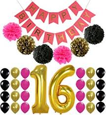 Backyard Sweet 16 Party Ideas Amazon Com Sweet 16 Yard Sign Outdoor Lawn Decorations Happy
