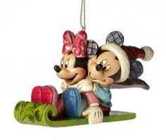 jim shore disney traditions snow flake princess ornament set of