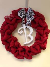 burlap wreath navidad pinterest burlap wreaths and craft