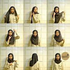 tutorial memakai jilbab paris yang simple 150 best hijab tutorial images on pinterest hijab styles hijab