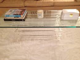 lucite coffee tables 9421