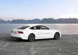 audi a7 slammed audi a7 sportback h tron quattro showcases fuel cell technology