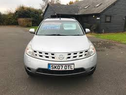 nissan murano old model used nissan murano cars for sale motors co uk