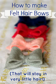 how to make your own hair bows 30 and easy to make hair bows diy projects