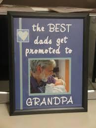 first time grandpa gift idea diy dollar store frame used cricut
