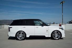 customized range rover 2017 badass custom range rover running on 24 inch forgiato wheels