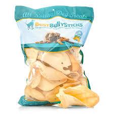 premium thick cut cow ears dog treats best bully sticks