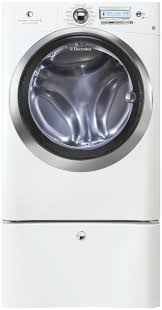 Front Loader Pedestal Front Load Washer With Wave Touch Controls Featuring Perfect
