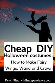diy halloween costumes how to make fairy wings wand and crown