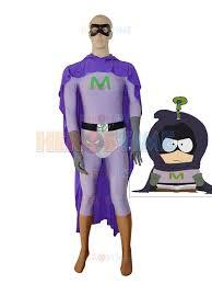 mysterion custom costume purple superhero costume spandex