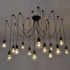 modern black light fixtures 14 swag chandelier black modern lighting industrial hanging pendants