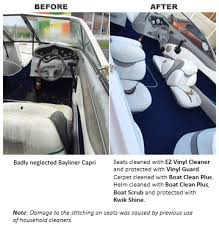 Best Upholstery Cleaner For Car Seats Clean Marine Vinyl U0026 Fabric Ez Vinyl Cleaner