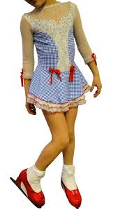 dorothy wizard of oz costume adults the 13 best images about dorothy wizard of oz figure skating dress