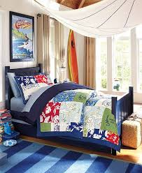 Soul Surfer Bedroom This Island Surf Bedroom Features Colorful Pottery Barn Kids
