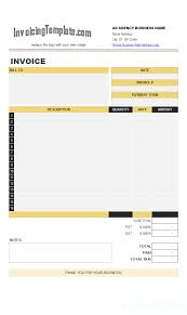 Rental Spreadsheet Template Word Rent Invoice Template