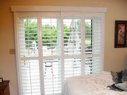 traditional white wooden frame plantation shutters for sliding