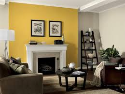 best yellow accent walls ideas on gray feature wall living room
