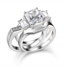 Wedding Ring Sets by Wedding Ring Sets Cheap Bridal Ring Sets On Sale Lajerrio Jewelry