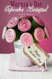mothers day ideas diy cupcake bouquet