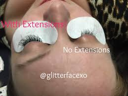 eyelash extensions by chelsey at posh salon in georgetown tx