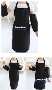 Personalized Aprons For Women Kids Apron Sets With Sleeves Custom Printed Aprons For Promotional