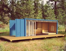 shipping container cabin interiors design