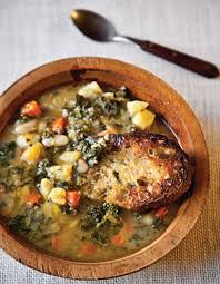 Butternut Squash And White Bean Soup Tuscan Bean Soup With Squash And Kale Recipe Saveur