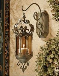 Tealight Wall Sconce Metal Wall Art Candle Holder Foter