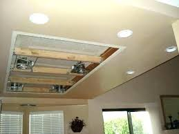 Installing Can Lights In Ceiling How To Install Can Lights In A Drop Ceiling How To Install