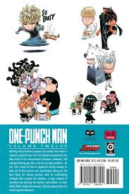 one punch man punch man manga volume 12