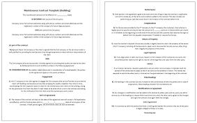 contract templates u2013 microsoft word templates