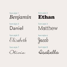 personalized name personalized name or lettering vinyl wall decal