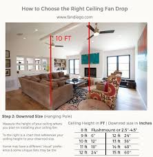 how to select a ceiling fan ultimate guide on how to choose the right ceiling fan fan diego
