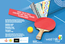 Table Tennis Tournament by Novelty Table Tennis At West Hills Mall Graphic Online
