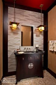 Powder Room Vanity Stained Cherry Powder Room Vanity Top In Saratoga Springs Ny