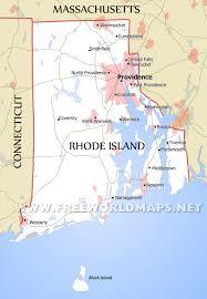 map rhode island rhode island maps