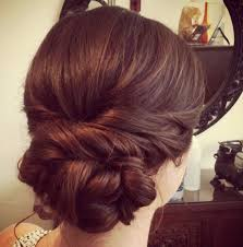 chignon mariage facile a faire chignon simple coiffure en image