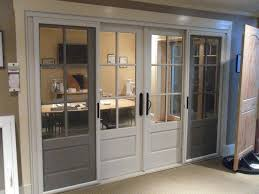 the marvin ultimate bi parting sliding french door in our showroom