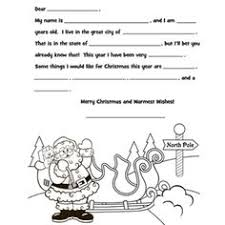 letter to santa template printable black and white a letter from santa i want to write a letter from santa and have