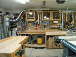 Garage Shop Designs Organized And Plenty Of Places To Plug Into The Dust Collector