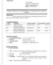 Best Resume Format For It Freshers by Download Best Format For Resume Haadyaooverbayresort Com