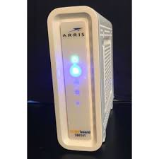 arris surfboard sb6141 lights arris surfboard sb6141 docsis 3 0 343mb cble modem white powers up