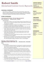 Sample Resume For Customer Service Representative Customer Service Call Center Resume Resume Template And