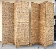 Wicker Room Divider Pair Of Wicker Room Dividers Dunepad
