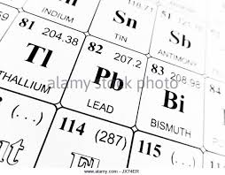 Bismuth Periodic Table Relative Atomic Mass Stock Photos U0026 Relative Atomic Mass Stock