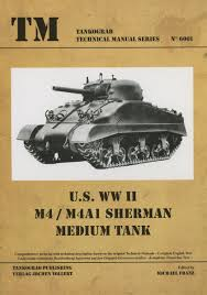 tankograd no 6001 us wwii m4 m4a1 sherman medium tank