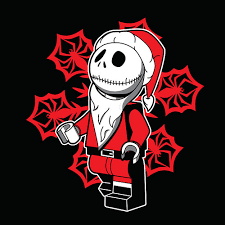 ript apparel the nightmare before lego t shirt available