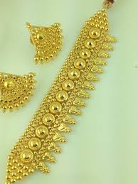 chokers necklace gold images Indian gold choker necklace designs for prettyugly me jpg