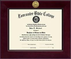 college diploma frame lancaster bible college century gold engraved diploma frame in