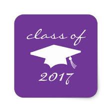 purple graduation cap purple graduation cap heart stickers zazzle